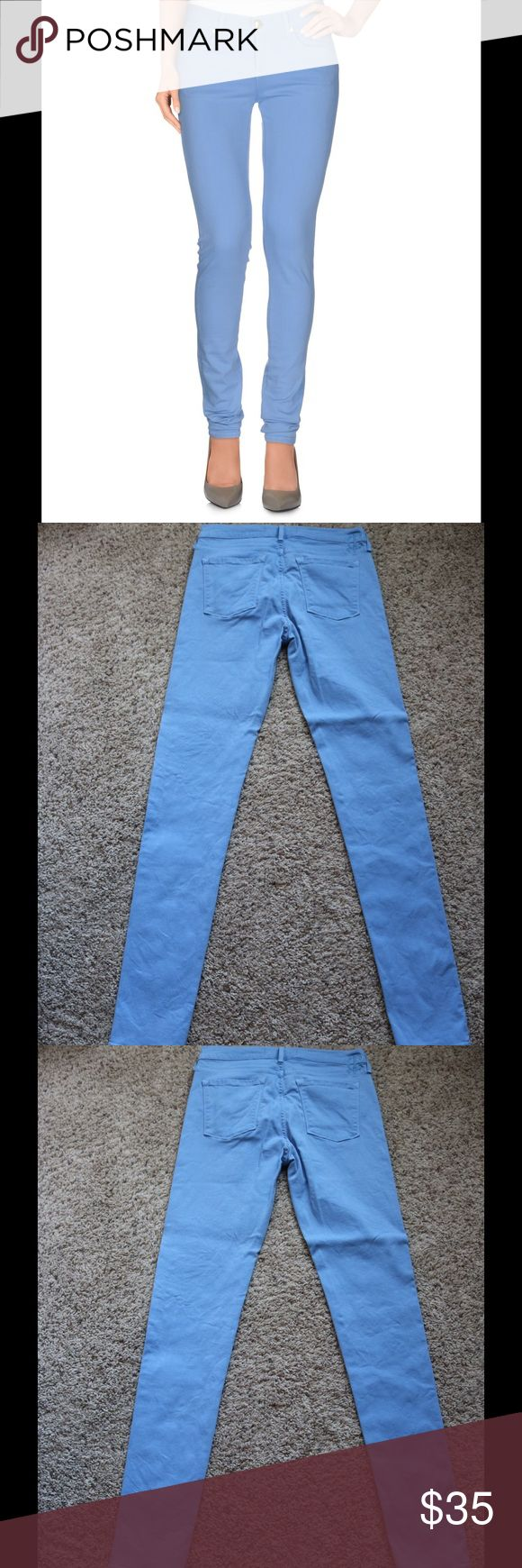Juicy Couture Light Blue Skinny Jeans EUC Juicy Couture Light Blue Skinny Jeans. Color is a light blue than a denim color. Only worn twice - Like new condition. Juicy Couture Jeans Skinny