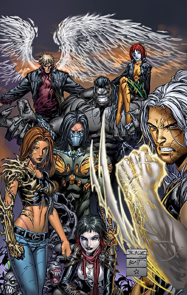 Top Cow Characters