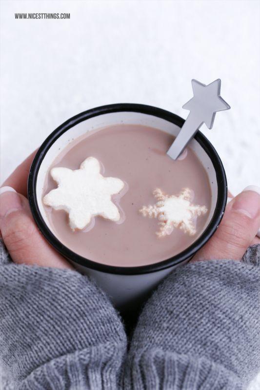 Hungrig Auf Neues: Schneeflocken-Marshmallows selber machen