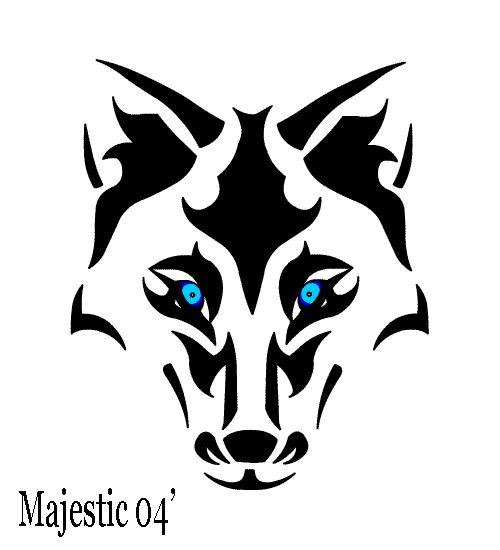 43 best joker tattoo outlines images on pinterest for Wolf eyes tattoo designs