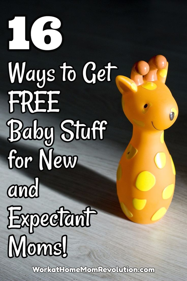 16 Ways to Get FREE Baby Stuff for New and Expectant Moms! FREE is good! If you're expecting a baby, anything free is helpful! #savemoney #baby