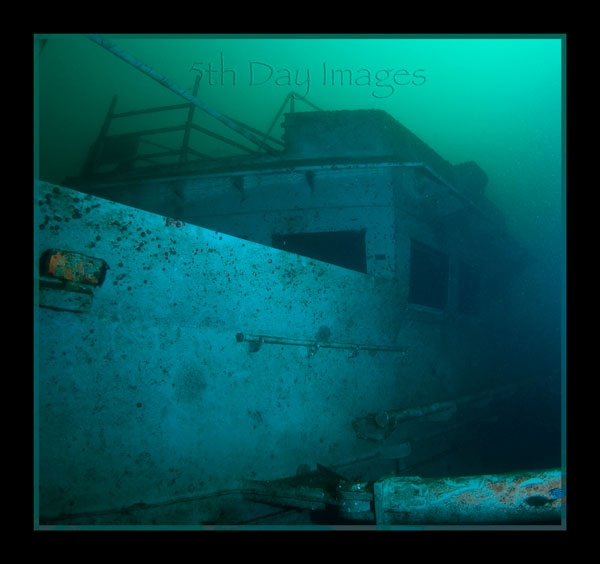 5th Day Images Page 1- Dive HMAS Adelaide Wreck at Terrigal