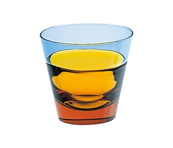 色合いが素敵なロックグラス