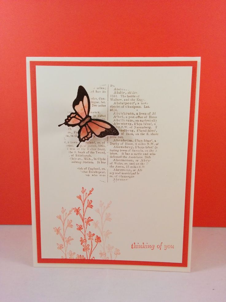 Stylin' Stampin' INKspiration: Stamp Set Focus: Dictionary Background