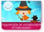 Apprendre le vocabulaire d'Halloween
