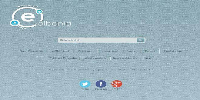 42 institucioneve dhe mbi 500 shërbime të integruara që do të ofrohen në E-Albania