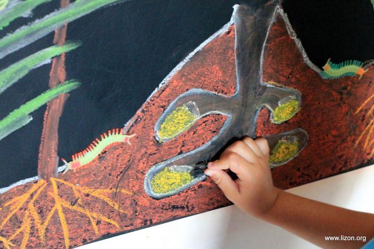 Мир моих грез . . . Lizon.org: Мир Насекомых на Грифельной Доске