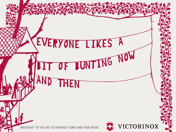 Victorinox goes paper cutting with Rob Ryan