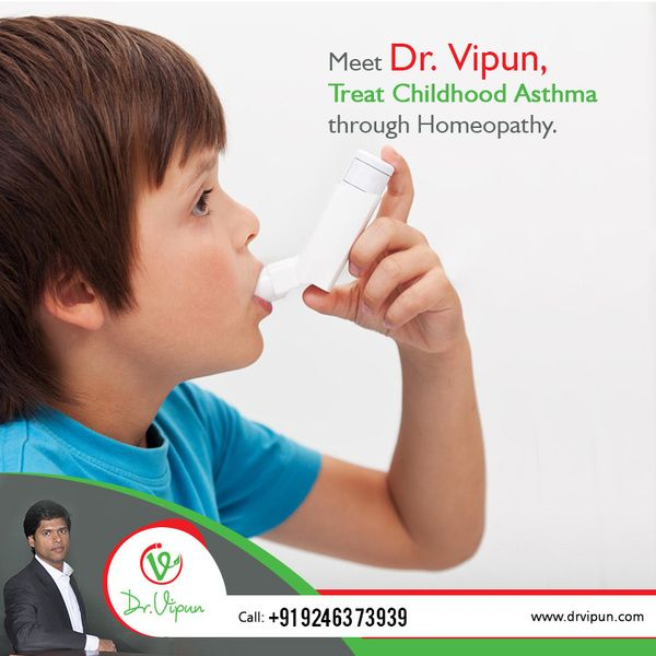 Treat your Child hood Asthma through Homeopathy. for more info visit: http://www.drvipun.com