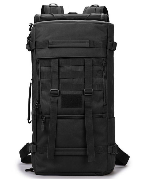 50l Outdoor Tactical Molle Military Rucksacks Backpack Travel