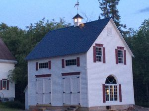 Mid America Shutters and Custom Headers on Remodeled Barn - http://blogs.architecturaldepot.com/mid-america-shutters-custome-headers-remodeled-barn/