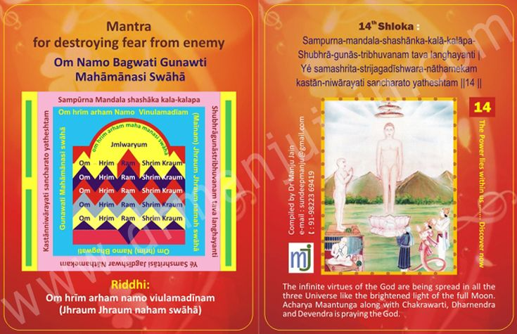 """""""#Mantra for Destroying Fear from #Enemy"""" more mantra @ http://www.drmanjujain.com"""