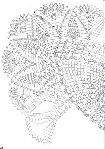 Chart for oval doily