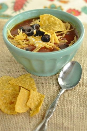 Crock Pot Chicken Tortilla Soup - your homebased mom