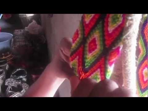 tira para bolsa wayuu - YouTube