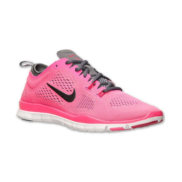 Women's Nike Free TR Fit 4 Training Shoes 50 liked on Polyvore featuring