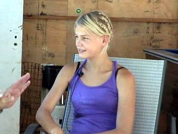 Irene is a 15-year-old runner who lives in a squatter camp near Pretoria, South Africa. She has won, in total, 27 gold medals, but owns no shoes.  Read more: http://www.digitaljournal.com/article/348571