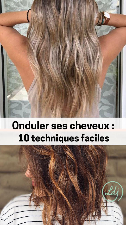 Hair Waves 10 Easy Ways To Wave You Hair Onduler Ses Cheveux 10 Techniques Faciles Pour Des Ondulations Parfaites Look Hair Styles Hair Long Hair Styles