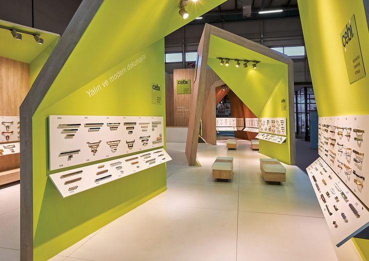 Exhibition Stand Design Awards : Best Çebi exhibition design by demirden images on