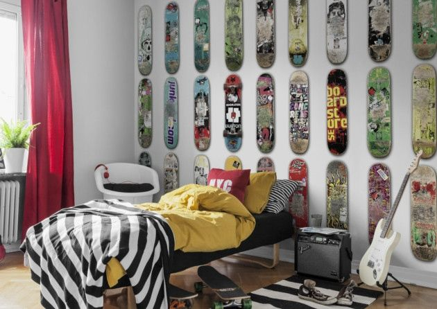 Skateboard Bedroom 64 best boy's room 1 images on pinterest | room, bedroom ideas and