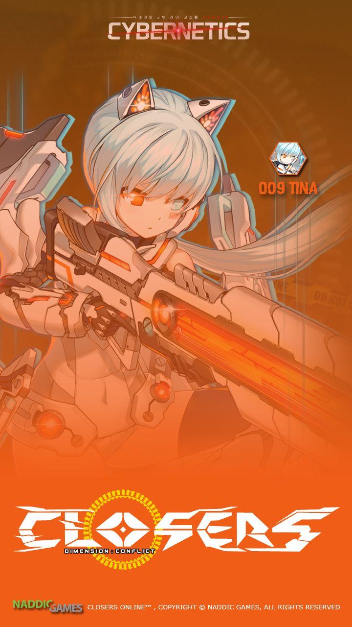 008 Tina Closers Phone Wallpaper Cybernetics [A] Resolution 720 x 1280