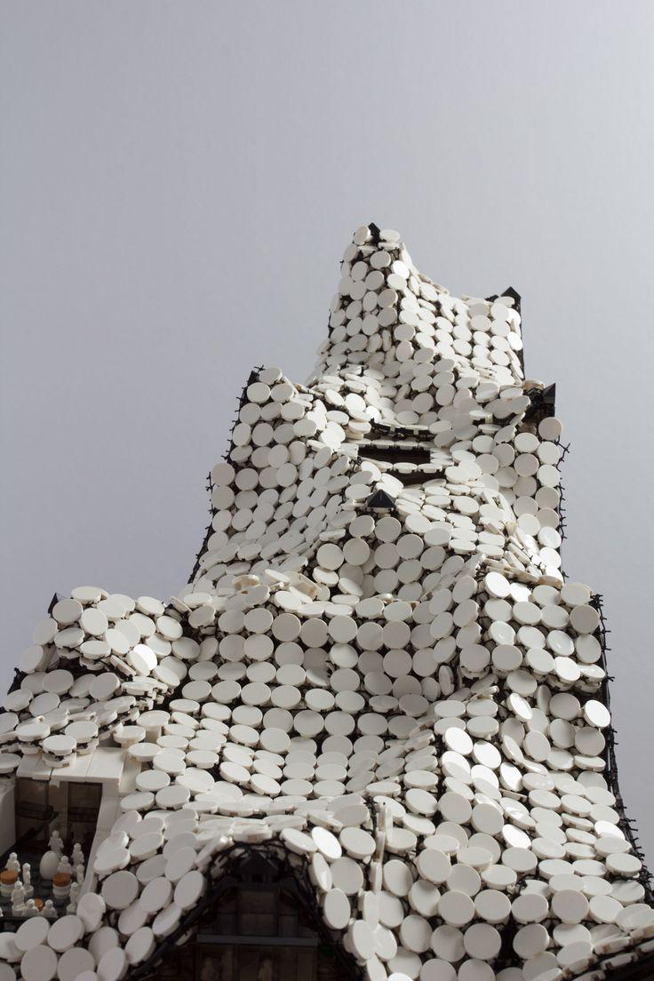 Hamburg Elbphilharmonie Made Out Of Lego Azucar Lego Architecture Lego Replica Lego