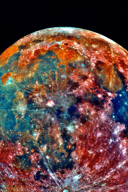 Galileo image of the Moon