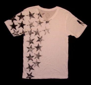 BUYMA.com PLAIN JANE HOMME★STARS Vネック Men's Tシャツ WHITE(11991602)