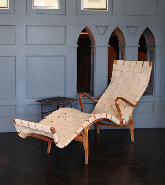 Bruno Mathsson's Pernilla 3 Chaise Lounge – Blackman Cruz