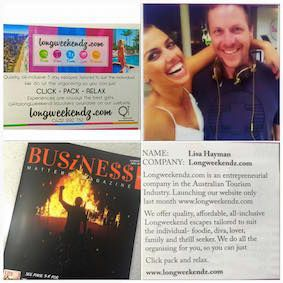 Pick up a copy of the latest Business Matters Magazine. Some fantastic reads and Longweekendz.com happens to make an appearance  www.longweekendz.com  All- inclusive, Tailor Made Escapes. We sealessly organise your entire trip from the moment you arrive. Not only will you experience luxury at an affordable price you will become VIP to the city!!! enjoying exclusive deals and offers   CLICK ~ PACK ~ RELAX