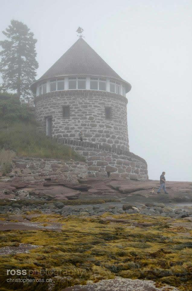 Ministers Island in New Brunswick Canada