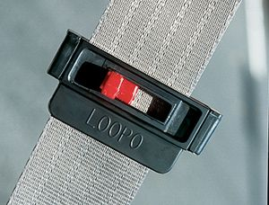 Loopo Seatbelt Tension Adjuster in Black - Pack of 2 for $7.95 plus S&H