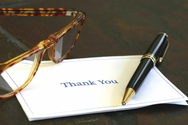 Always send a thank you note after a host or hostess has been gracious enough to invite you to a dinner party, celebration, or overnight visit.