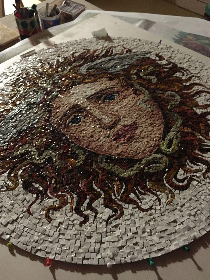 Work in Progress. For Salone del Mobile di Milano 2016 for Friul Mosaic