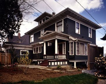 Dark Gray Exterior Paint Design Ideas, Pictures, Remodel, and Decor - page 41