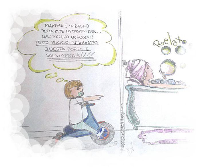 Neo Mamma On Board - le avventure di una mamma in bagno.