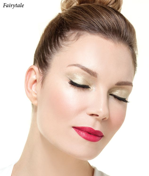 Fairytale   Radiant Professional Make Up -Wonderlight Serum Make Up No 01 -Diamond Effect Shadow, No 11 -Softline Smoky Eye Pencil No 30 -Magna Lash Mascara No 01 -Brow Definer Fix & Color Waterproof No 02 -Blush Color No 127 -Softline Waterproof Lip Pencil No 12 -Long Lasting Hydra Lipstick No 54 #Radiant #Professional #makeup #lipstick #eyeshadow #eyebrows