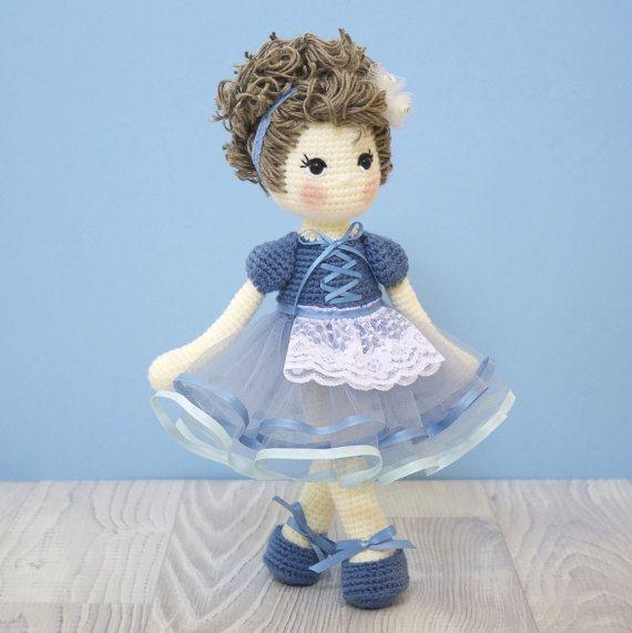 FREE SHIPPING Amigurumi crochet doll  Sweet by BubblesAndBongo