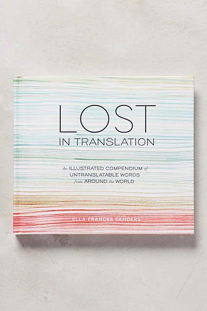 Lost In Translation: