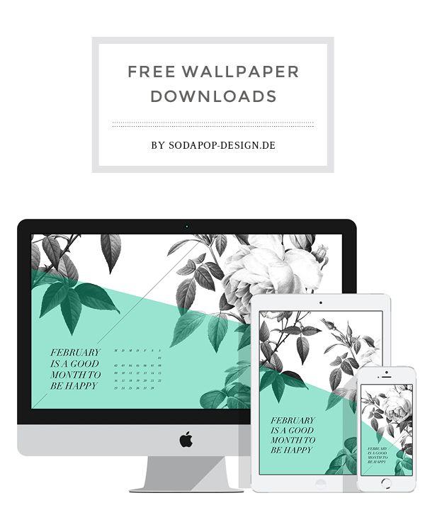 Free Wallpaper for Desktop, iPhone and  iPad, via soda pop-design.de