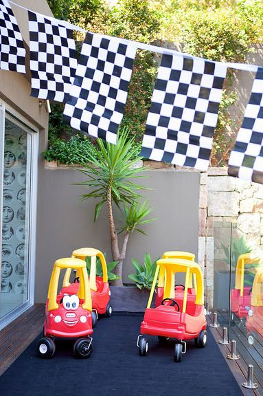 Grand Prix Ferrari, Race Car Birthday Party - Kara's Party Ideas - The Place for All Things Party