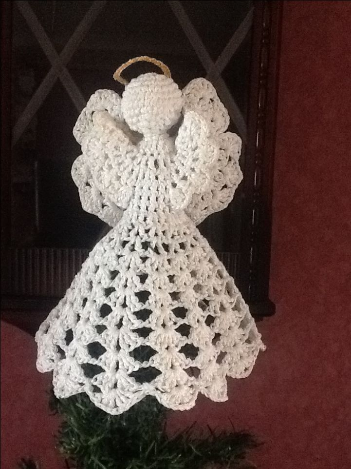 Crochet, Hook, Angels Bells, Crochet Christmas Angels, Angel Crochet ...