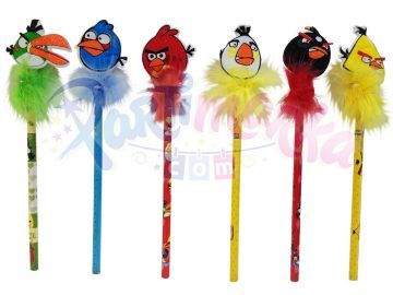 Angry Birds Hediyelik Kalemler 3 lü