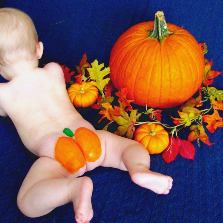 Pumpkin butt