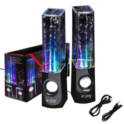 Dancing Water Fountain Speakers ♥ #HottestGifts Best Christmas Gifts for Teen Girls 2018  Check out how these water speakers dance with color.  We bought some for our daughter she loved them. Such an awesome gift for tweens.  speakers with color dancing water inside. #toptoys #bestgifts #teengifts #tweengifts