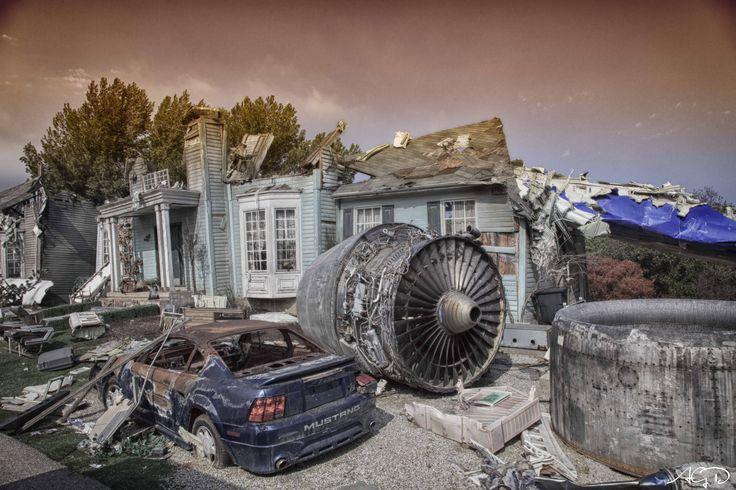 Un décor de World War Z  Arnauld Grassin Delyle Photography 2013 http://grassindelyle.fr/