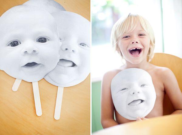 DIY Baby Masks! | Oh Happy Day!