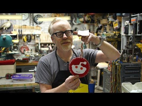 Adam Savage Opens His Reddit Secret Santa Gift! - http://eleccafe.com/2017/12/23/adam-savage-opens-his-reddit-secret-santa-gift/