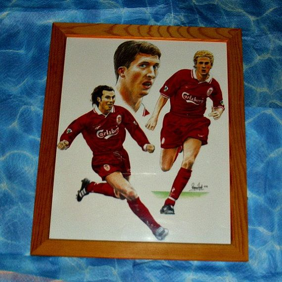 Liverpool Football Club Laminated Framed by WelshGoatVintage