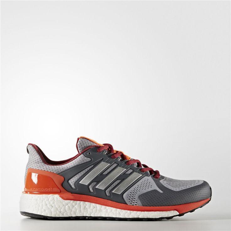 Adidas Supernova ST Shoes (Mid Grey / Silver Metallic)